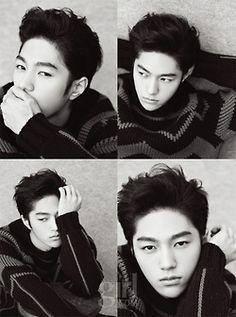 L (MyungSoo) ♡ #INFINITE #KPOP for Vogue Korea