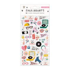 Have a blast creating with the Puffy Stickers from the All Heart Collection by Crate Paper. There are 54 puffy stickers included on a 4 Puggle Puppies, Cute Puppies, Puppies Tips, Maltese Dogs, Crate Paper, Dog Boredom, Heart Projects, Cute Planner, Holographic Foil