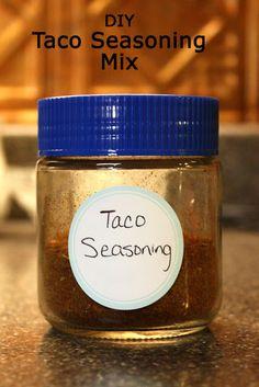 Southern Scraps : Home made taco seasoning mix