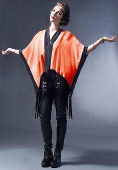 EN VENTE! Soie de luxe Kimono de soie, soie franges Kimono, vif, coucher…