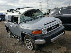 Salvage Toyota Fj Cruiser Suvs for Sale And Auction   JTEBU4BF6EK207392