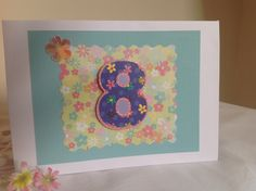 Handmade birthday card by Plum Belle