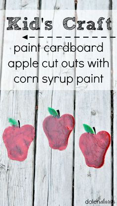 Painting With Corn Syrup Paint - seven thirty three