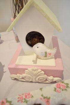 cha de bebe passarinhos - Invento festa
