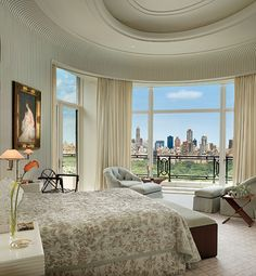 Design firm MAC II on Central Park West. Photography of Durston Saylor in Architectural Digest. O.O