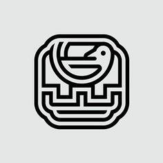 Great Wall Hotel by Lance Wyman | 1981 #logotheke #logo #logomark #logodesigner…