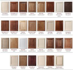 Kitchen Cabinets Color Selection | Cabinet Colors Choices | 3 Day Kitchen Bath Custom Cabinets ...
