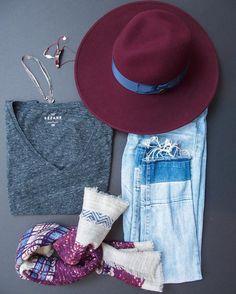 Fall is here! The perfect season to wear burgundy accessories! http://liketk.it/2peFM @liketoknow.it #liketkit #flyingmonkeyjeans #sezane #inouitoosh #satelitteparis #gasbijoux #burgundy #tbt