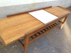 1970's vintage Remploy extending coffee table. Retro/Mid Century by EraBrighton on Etsy https://www.etsy.com/listing/225298475/1970s-vintage-remploy-extending-coffee