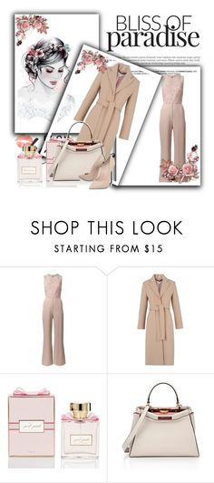 Sem título #648 by adrianabnu on Polyvore featuring moda, Whistles, Elie Saab, Casadei and Fendi