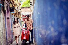 #vespa #wedding #beautiful #prewedding #photographer in vietnam #photographer for foreigner in vietnam #happiness #happy ending #eclair joli #fearless photography #couple in love #happiness #grafiti #lovebus