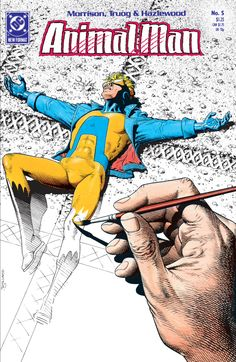 Animal Man #5 cover by Brian Bolland