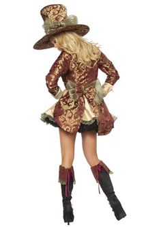 Female mad hatter inspiration for the beyond wonderland tour!