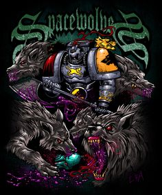 averyforge axe imperium space_marines space_wolves wolf