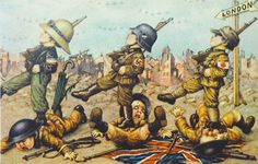 """Italian WW2 """"The Axis marching to London"""""""