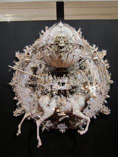 """Kris Kuksi's """"Triumph"""" - art installation"""