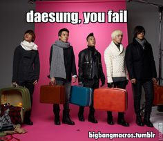 BIGBANG ♡ G-Dragon , Daesung , TOP , Seungri , and Taeyang