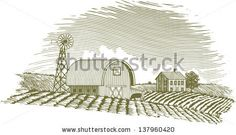 Windmill Farm Stock Vectors & Vector Clip Art | Shutterstock