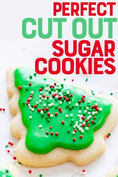 Perfect Cut-Out Sugar Cookies with the BEST Cookie Icing Recipe This is the only cut-out sugar cookie and icing recipe you need! The cookies are buttery and tender and our fool-proof icing recipe makes decorating easy. Best Sugar Cookie Icing, Favorite Sugar Cookie Recipe, Rolled Sugar Cookies, Cut Out Cookies, Sugar Cookies Recipe, Cookie Recipes, Dessert Recipes, Frosting Recipes, Drink Recipes