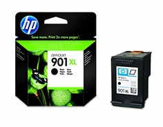 cool HP CC654AE - Cartucho de tinta HP 901XL de alta capacidad, negro