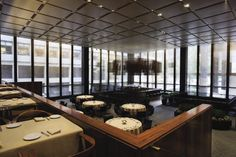 Four Seasons Restaurant - Geometric Modern - Phillip Johnson - NYC, New York