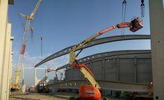 Med Repair Antwerpen  #Stadsbader #Building #Medrepair #Antwerp Building Department, School Building, Antwerp, Golden Gate Bridge, Utility Pole, Travel, Viajes, Trips, Traveling