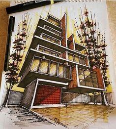 Amazing sketch by Mohammad Ansari.  #Iran #Sketch .  www.facebook.com/amazingarchitecture✔️ #nature  #amazingarchitecture  #architecture  #design  #contemporary  #architecten #nofilter  #architect #arquitectura  #iphoneonly #instaarchitecture #love #Architektur  #architecture  #architettura #concept  #interiordesign  #photooftheday  #luxury #luxurious  #アーキテクチャ.  #Ākitekucha  #instatravel #travel #instagood  #architect  #instamood  #معماری  #Persian