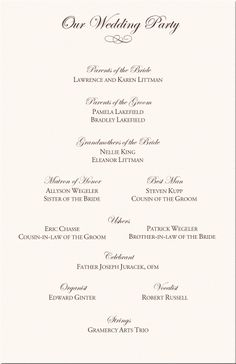 Catholic M Wedding Ceremony Traditions Celtic Program Examples Wording Programs Directories Order Of