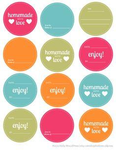 creare etichette per vasetti marmellata - Cerca con Google