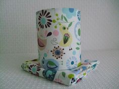 Birdy Retro print childrens Night Light by EvieEccles on Etsy