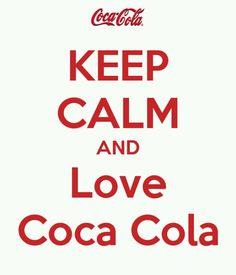 Keep Calm | Love Coca Cola
