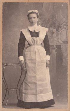 Edwardian Parlor Maid- female servant uniform for Chateau Aubrey