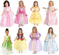 Dress your little princesses in these beautiful, machine washable dresses! Princess Party 3 Dress Set, $81.49