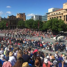 Great day for the 2015 Credit Union Christmas Pageant! #Adelaide #cupageant2015
