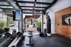 12 Home Gyms for the Modern Home