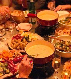 Um dos melhores fondues que já provei.... e olha que sou expert heim? Super dica! Durante o Inverno o The Standart faz um especial de fondue de Dezembro a Março!  #FhitsNY @fhits