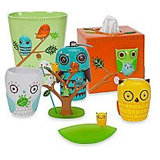 Creative Bath Give A Hoot Resin Bath Ensemble