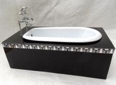 Bathrooms through the ages - Make a Miniature Art Deco Bath Tub