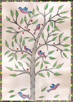 Madhubani Painting I