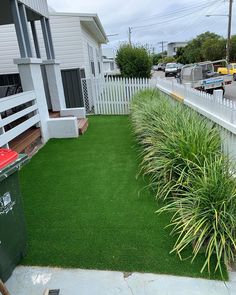 A residential job using synthetic grass completed in Merewether, completely transforming and brightening up this family's outdoor area. #syntheticgrass #fakegrass #landscape #playground #transform #softfall #outdoor #play Fake Grass, Commercial Flooring, Wet And Dry, Outdoor Play, Newcastle, Rainbow Colors, All The Colors, Playground, Fields