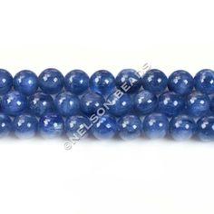 Blue Kyanite 6mm Round Beads (1 Bead) - Grade AAAA