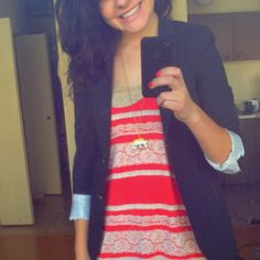urban outfitters tank and bandeau, aritzia blazer