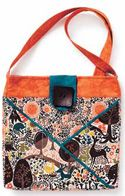 Sue Marsh made this bag and several more versions you can see in the May/June issue of Love of Quilting!   http://www.fonsandporter.com