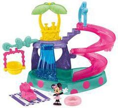 Fisher-Price Minnie Mouse Polka Dot Pool Party Set