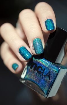 I'm so in love with this color!!! ''Teal The End''
