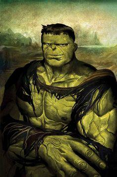 0625 [Mike Del Mundo] Hulk Lisa - Time travel variant