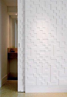 Door of bathrom . House Design, Door Design, Dream Decor, House Styles, Doors Interior, Home Decor, Home Deco, Partition Door, Wall Design