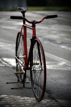 "fixed bike - artigianal italian frame ""Caldaro"""