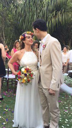Casamento wedding bride inspiration decor Noiva decoração dia campo ar livre flores colorido