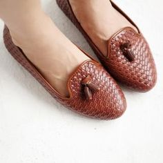 Woven #Loafers #slippers #shoes